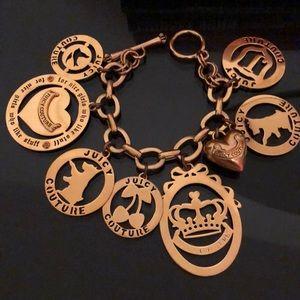 Juicy Couture Oversized Charm Bracelet